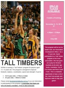 'Tall Timbers' program