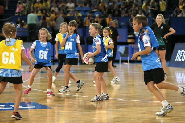 2015 Constellation Cup Australia v New Zealand  Perth NetSetGo kids