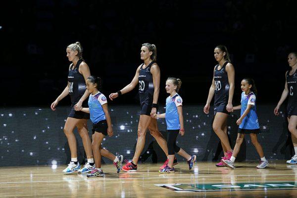 2015 Constellation CupAustralia v New Zealand PerthNew Zealand with NetSetGo kids